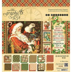 Kit carte Graphic 45 - St Nicholas Collection