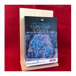 Calendario filosofico in Inglese  2018 - supporto BETULLA A6