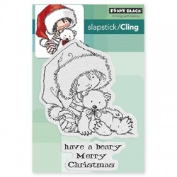 Timbri cling Penny Black - Beary merry
