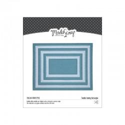 Fustella ModaScrap - Dashing Rectangles