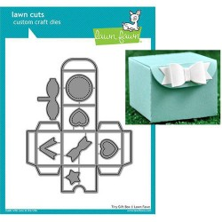 Fustelle Lawn fawn  - Tiny Gift Box