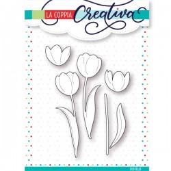 Fustella La Coppia Creativa Tulipani