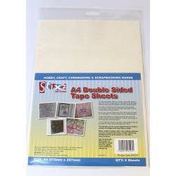 A4 DOUBLE SIDED TAPE SHEETS - Stix2