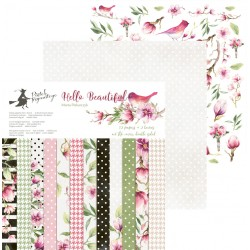 PIATEK13 - HELLO BEAUTIFUL-PAPER PAD 12x12""
