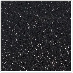 Gomma crepla glitterata adesiva - Nero - 20x30 cm