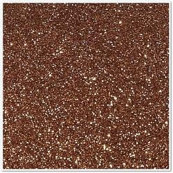Gomma crepla glitterata adesiva - Copper - 20x30 cm