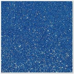 Gomma crepla glitterata adesiva - Blu chiaro - 20x30 cm
