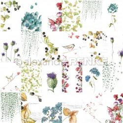 Alexandra Renke - Collezione Natur - Designpaper 'Flowers Autumn'