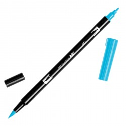 Pennarello Tombow Dual Brush - Turquoise
