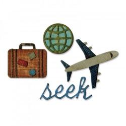 Fustella Sizzix Sidekick Side Tin Holtz - Order Set - Travel