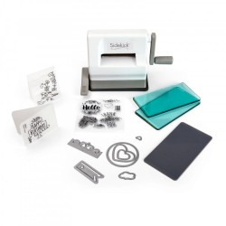 Sizzix Sidekick Starter Kit (White & Gray)