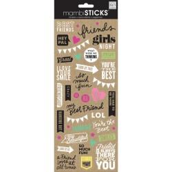 Me&My Big Ideas - Mambi Sticks - Best Friends