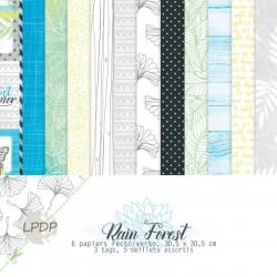 Les Papiers de Pandore - Rain Forest - Pack 30x30