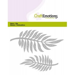 Fustella Craft Emotions - Tropical Leaves
