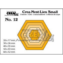 Fustella CreaLies - Hexagons