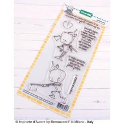 Timbro Clear-Mi - Impronte D'Autore - Io voglio un cuore