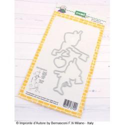 Fustella Impronte D'Autore - Io voglio un cuore