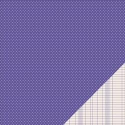 Cartoncino american craft - Purple mini dot