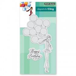 Timbri cling - Penny Black - Birthday Balloons