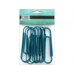 Jumbo Metal Paper Clips - BCI Crafts - Teal