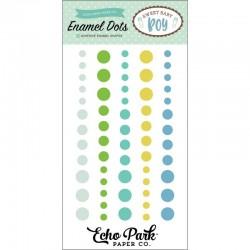 Enamel Dots Echo Park - Sweet Baby Boy