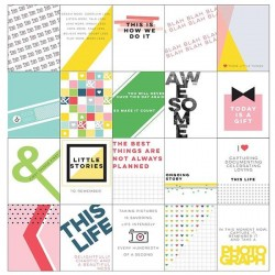 "Kit 20 carte 3"" x 4"" - Pink Fresh Studio - Life Noted"