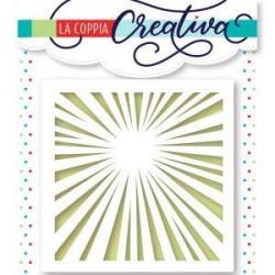 Stencil  - RAGGI DI SOLE - La Coppia Creativa