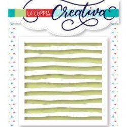 Stencil La Coppia Creativa - STRISCIE ACQUARELLO