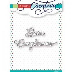 Fustella La Coppia Creativa - BUON COMPLEANNO 2