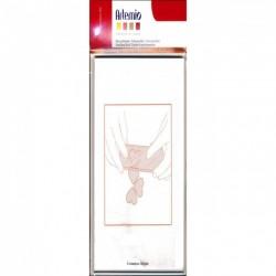 Base trasparente 7x19 cm - Artemio