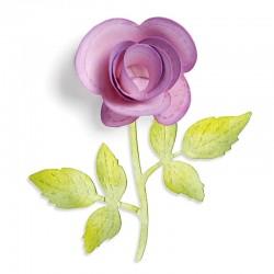 Flower, 3-D & Vine
