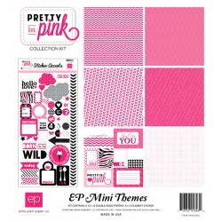 Kit carte Echo Park Mini Themes Pretty in pink