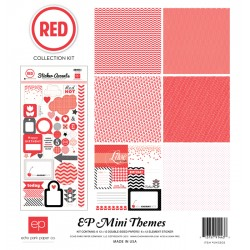 Kit carte Echo Park Mini Themes Red