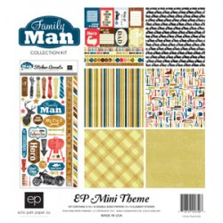 Kit carte Echo Park Mini Themes Family Man