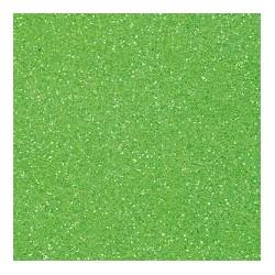 Gomma crepla -verde chiaro  glitter
