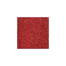 Gomma crepla  rossa  glitter -  20x30cm