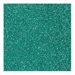 Gomma crepla  verde smeraldo glitter - 20x30cm