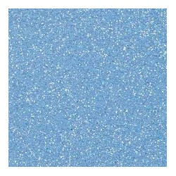 Gomma crepla  azzurro glitter - 20x30cm