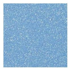 Gomma crepla  azzurro glitter