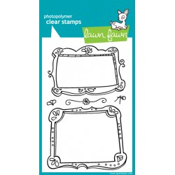 Timbri clear - Lawn fawn Fanciful Frames