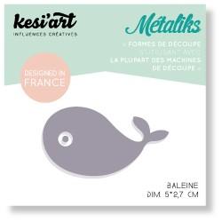 Fustella Kesi'Art - Métaliks mini baleine