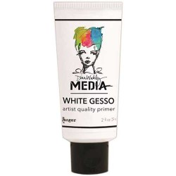 White Gesso Dina Wakley Media