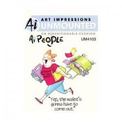 Art Impression unmounted Ai People