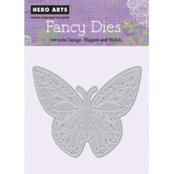 Fustella Hero Arts Fancy Dies Butterly