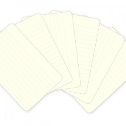 """Kit 100 carte -Lined cards 4x6"""""""