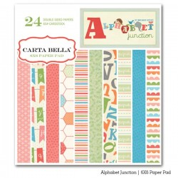 Carta bella 6x6 pad - Alphabet junction
