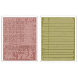 Fustella Sizzix TI T.Holtz -  Collage & Notebook Set