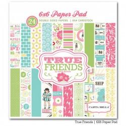 Carta bella 6x6 pad - True friends
