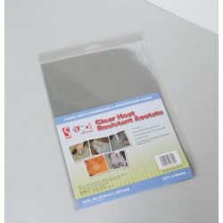 Clear heat resistant acetate sheets - Stix2