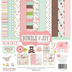 Kit carte Echo Park Bundle of Joy Girl